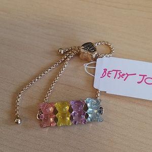 Betsey Johnson gummy bears pastel bracelet NWT